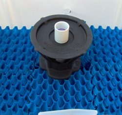 Image of well device before installation