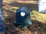 Image of septic tank box in ground