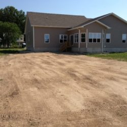 Image of completed project outside of a home