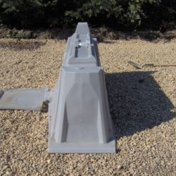 sSide view of IcoFlow unit in gravel