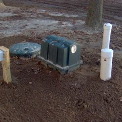 Image of Retrofast device in drainfield