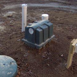 Retrofast device in dirt