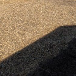 Close up of gravel