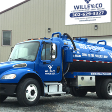 The finest septic service and pumping from Willey and Co.
