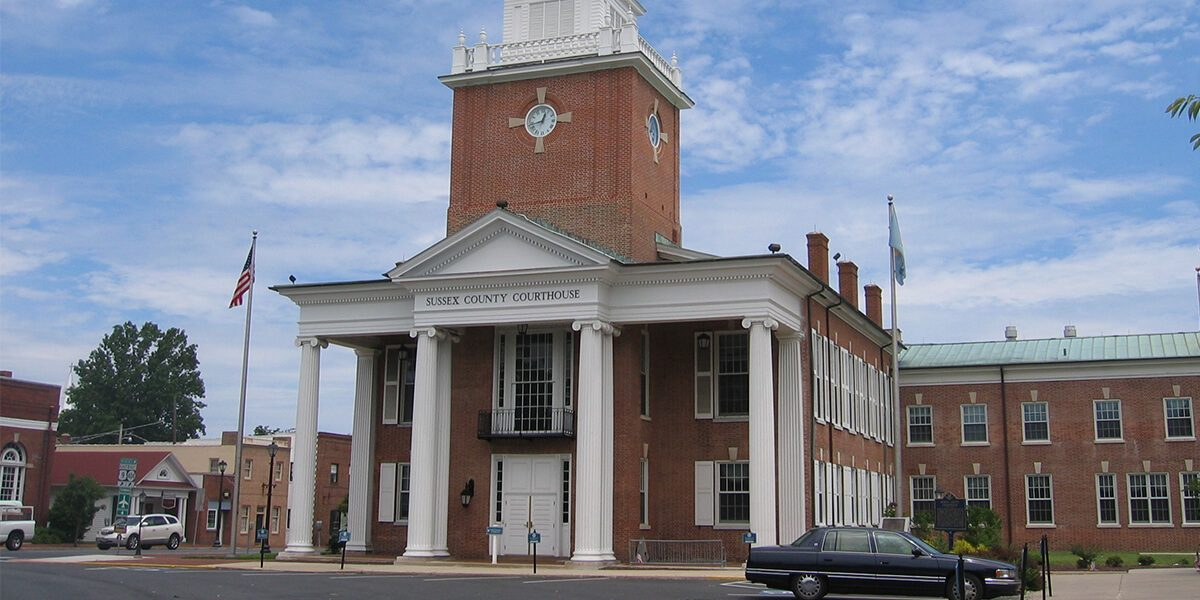 Image of Georgetown Delaware courthouse