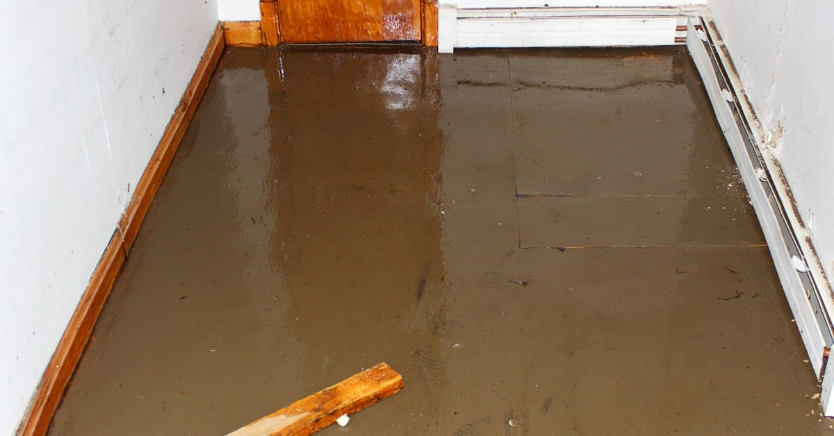 Image of Sewage Leak In Floor