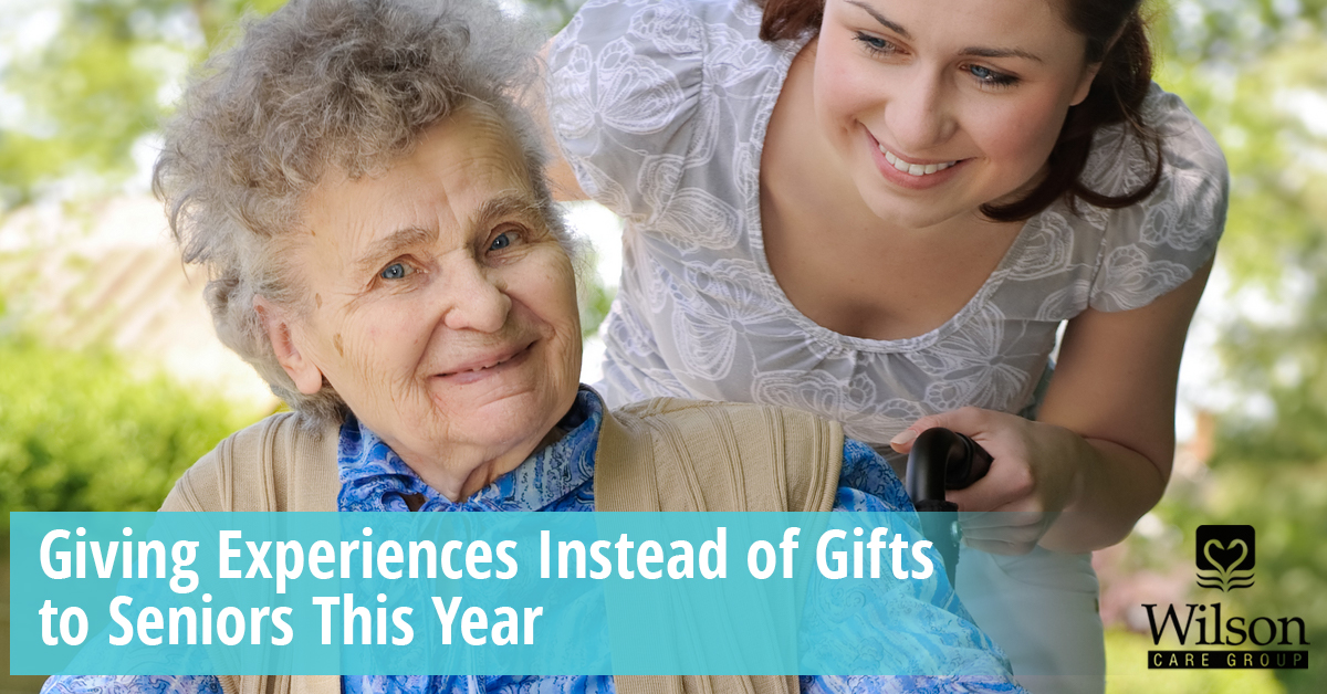 Giving Experiences Instead Of Gifts To Seniors This Christmas
