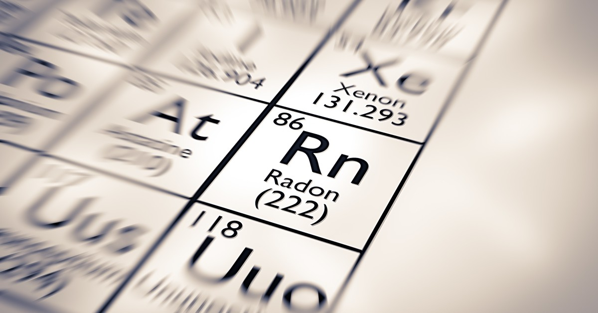 Radon Element Table