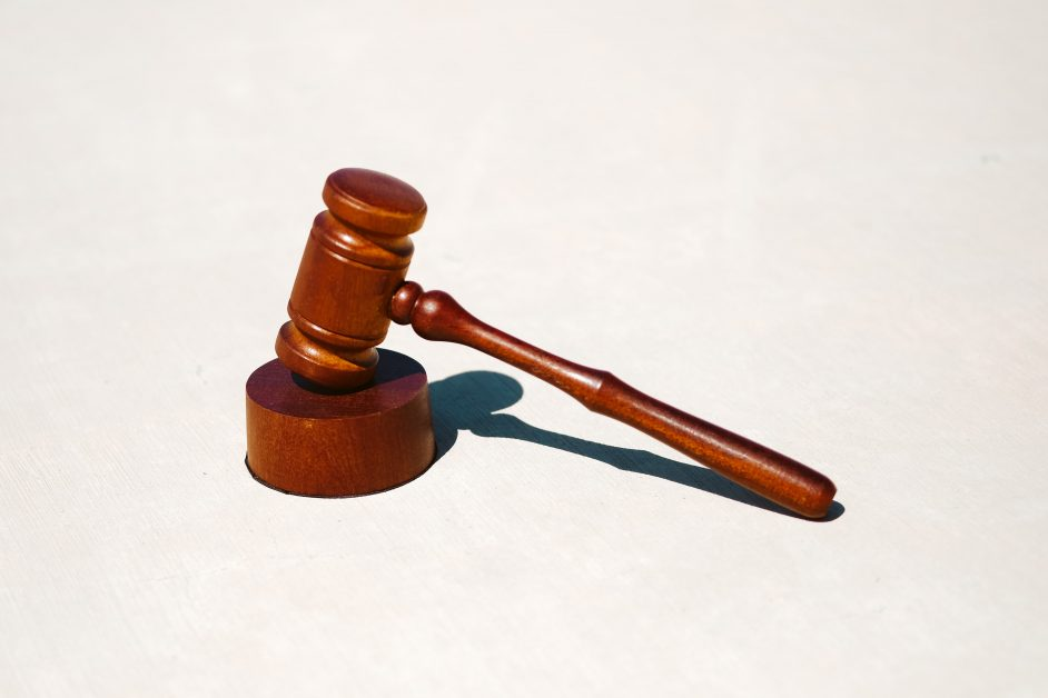 An image of a gavel.