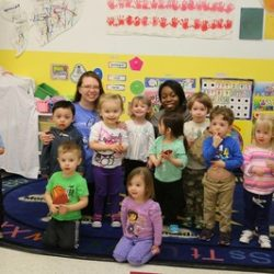 A Group of toddlers at our child care - Wonder Years Learning Center