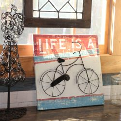Image of Vintage Bike Sign