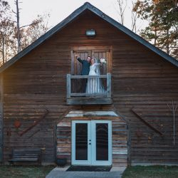 Image of Married Couple at Woodlawn Gardens Barn