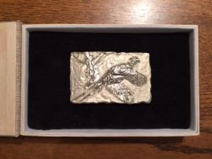 Solid Silver, Western Belt Buckle $350.00