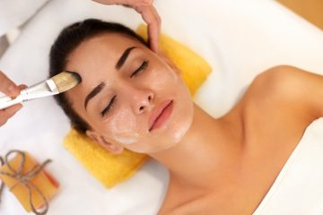 Facial treatment that is a med spa service