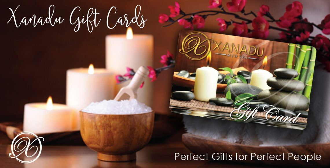 Gift Cards at Xanadu Med Spa