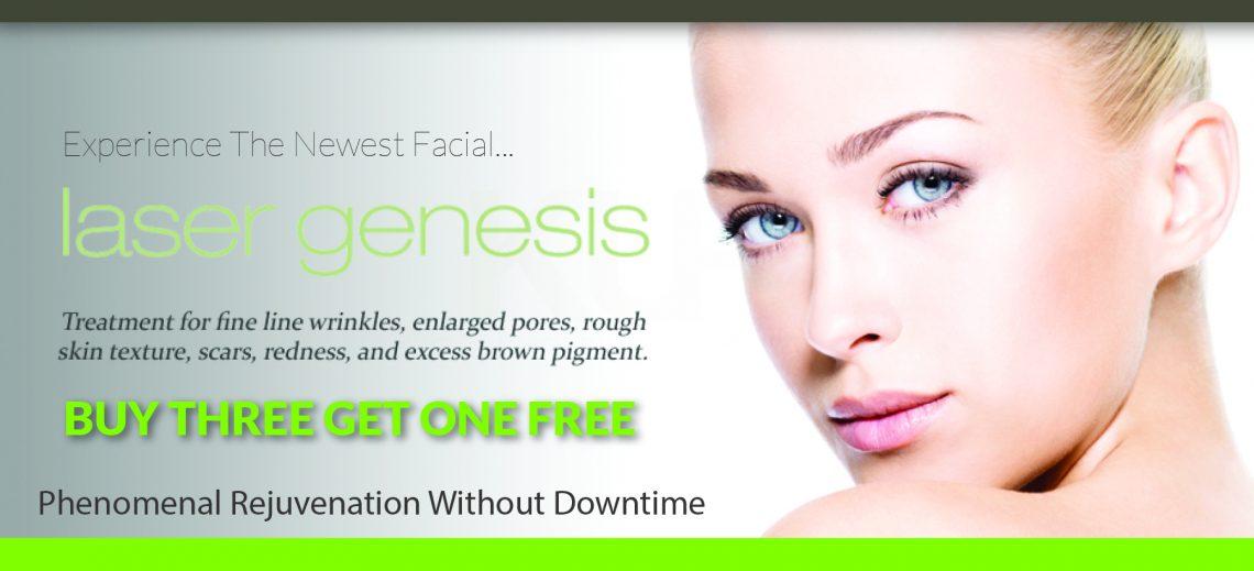 Laser Genesis - Buy 3 Get 1 Free June Special