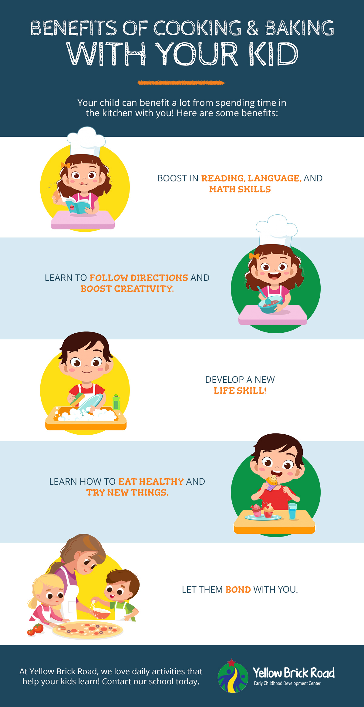 Child Care Eden Prairie: Benefits of Baking and Cooking ...