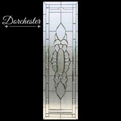 Professional shot of Dorchester glass door