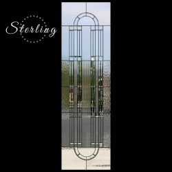 Professional shot of Sterling glass door