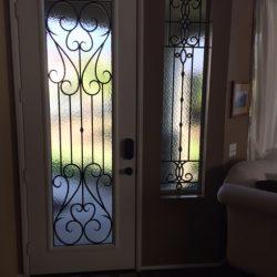 Heart shaped glass door design - Your Door Our Glass