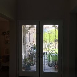 Interior shot of Ashford glass door