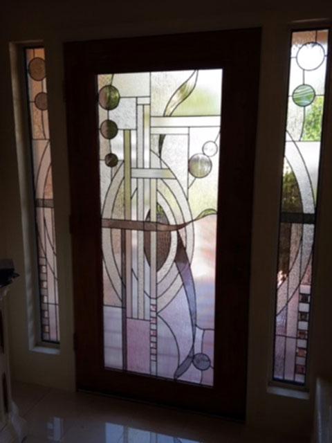 Custom Glass Get Your Temecula Home A New Custom Glass Door Insert