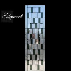 Professional shot of Edgemont door glass