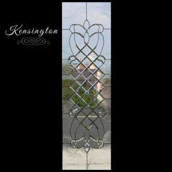 Image of the Kensington decorative glass door design - Your Door Our Glass