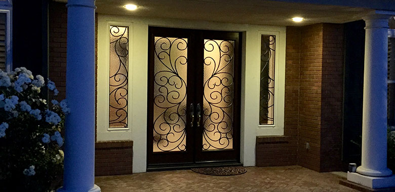 Decorative Glass Door Temecula Types Of Glass Insert For Your Front