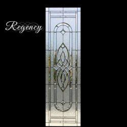 Regency style decorative glass door - Your Door Our Glass