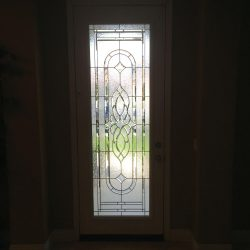 Frosted decorative glass door - Your Door Our Glass