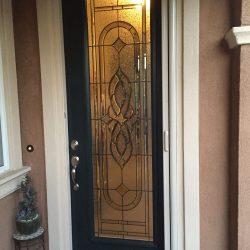 Frosted glass door design - Your Door Our Glass