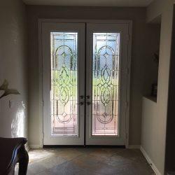 Matching Regency double glass doors