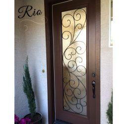 Professional shot of Rio Glass Door
