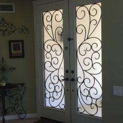 Rio double glass door