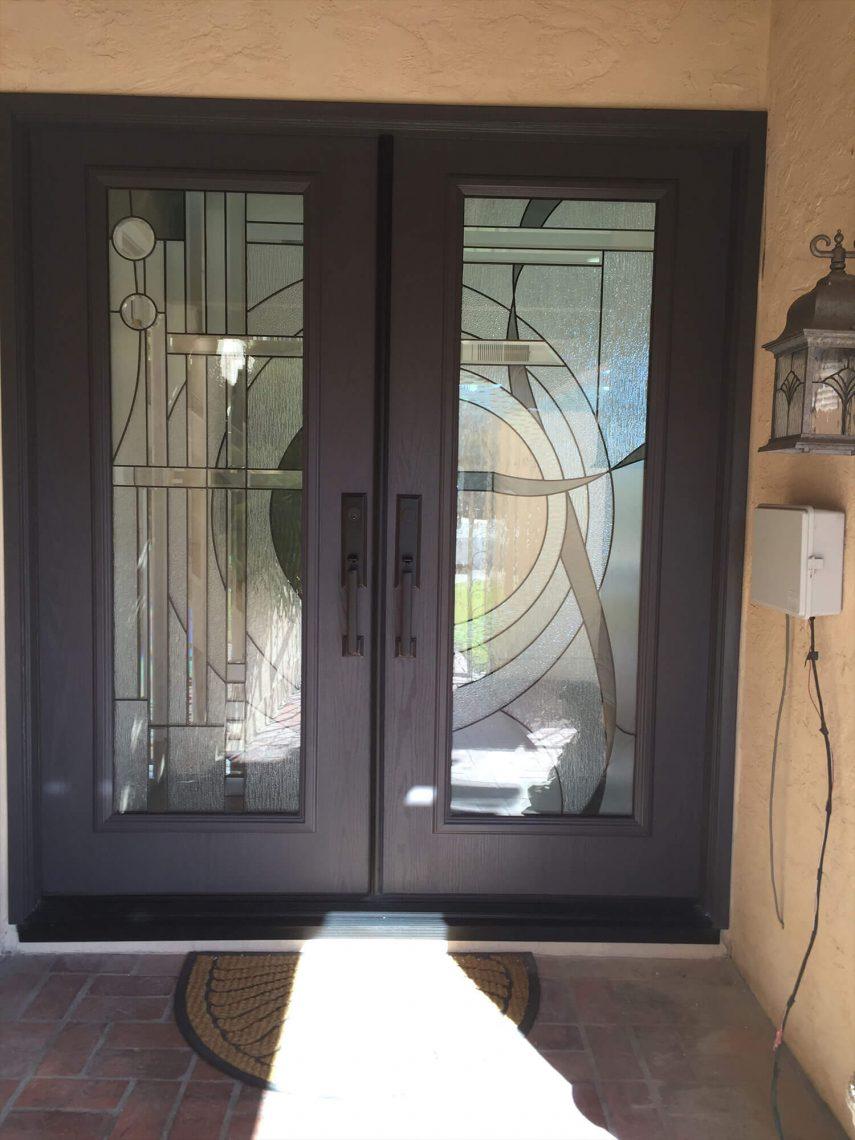 Decorative Glass Door Inserts Premium Glass In Temecula