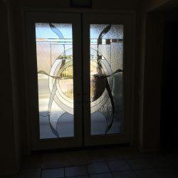 Glass door designs create a sun effect - Your Door Our Glass