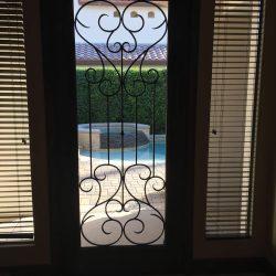 Inside of Tivoli glass door