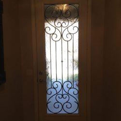 Enlarged Tivoli glass door