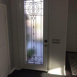 Front home entrance with Veranda glass door