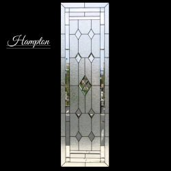 Professional shot of Hampton glass door