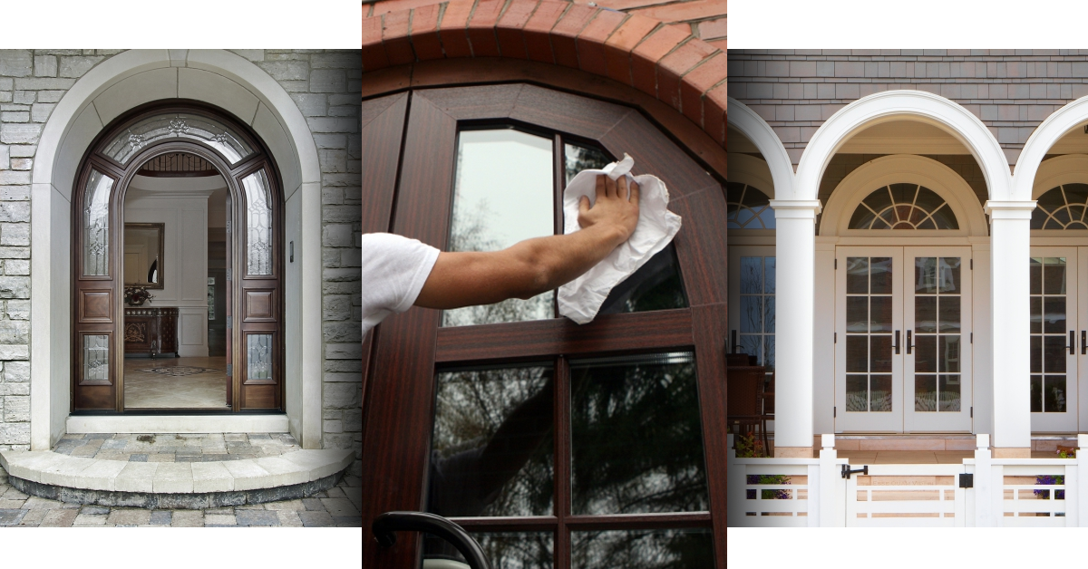 3 Panel Picture Of Custom Door Glass