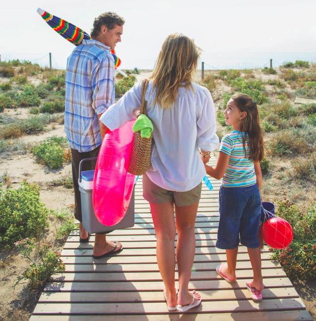 Porodični odlazak na plažu