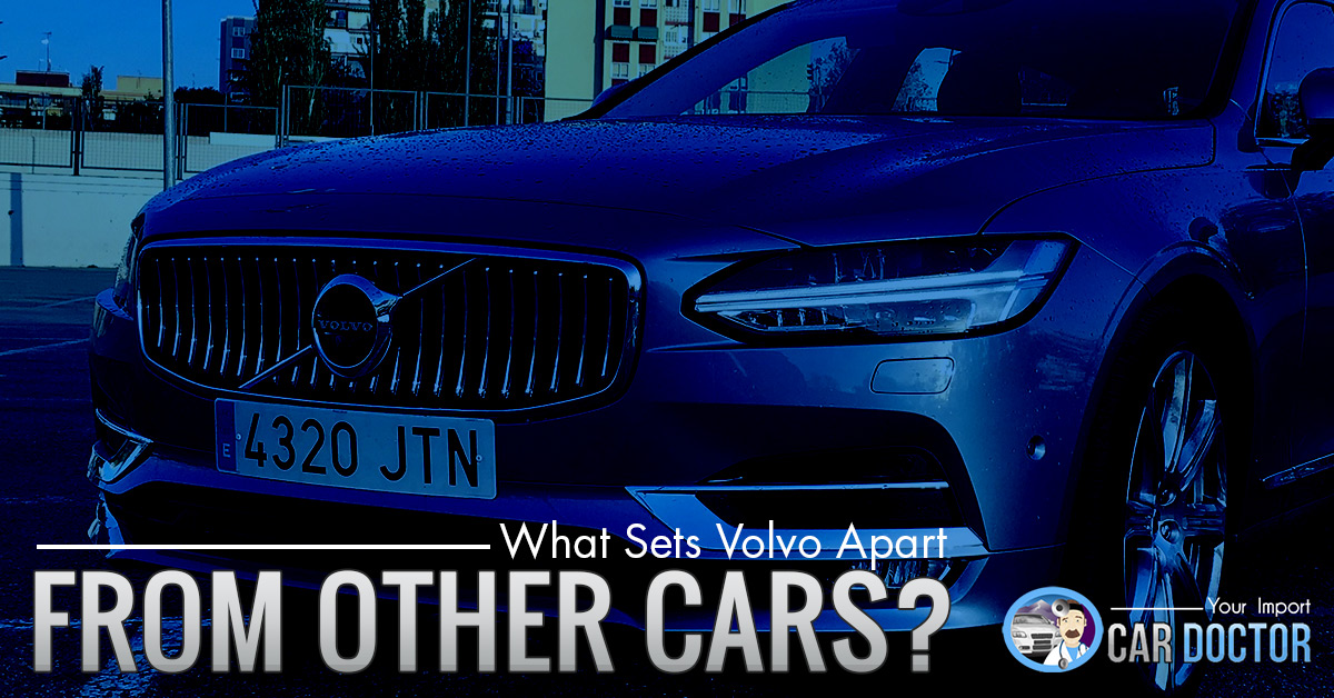 Car Service Colorado Springs: What Sets Volvo Apart From Other Cars?