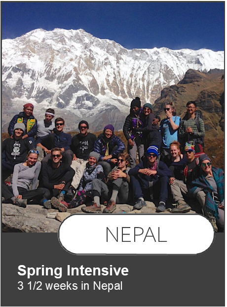 Link to Nepal Intensive itinerary