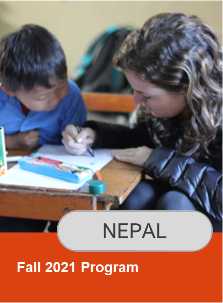 Click here for information on Fall 2021 Nepal program