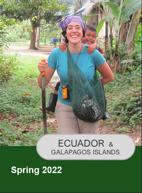 Click for information on Ecuador Spring 2022 Program