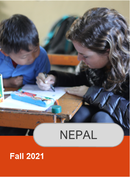 Click for information on Nepal Fall 2021 Program