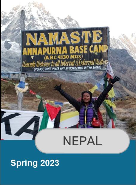 Click for information on Nepal Spring 2023 Program