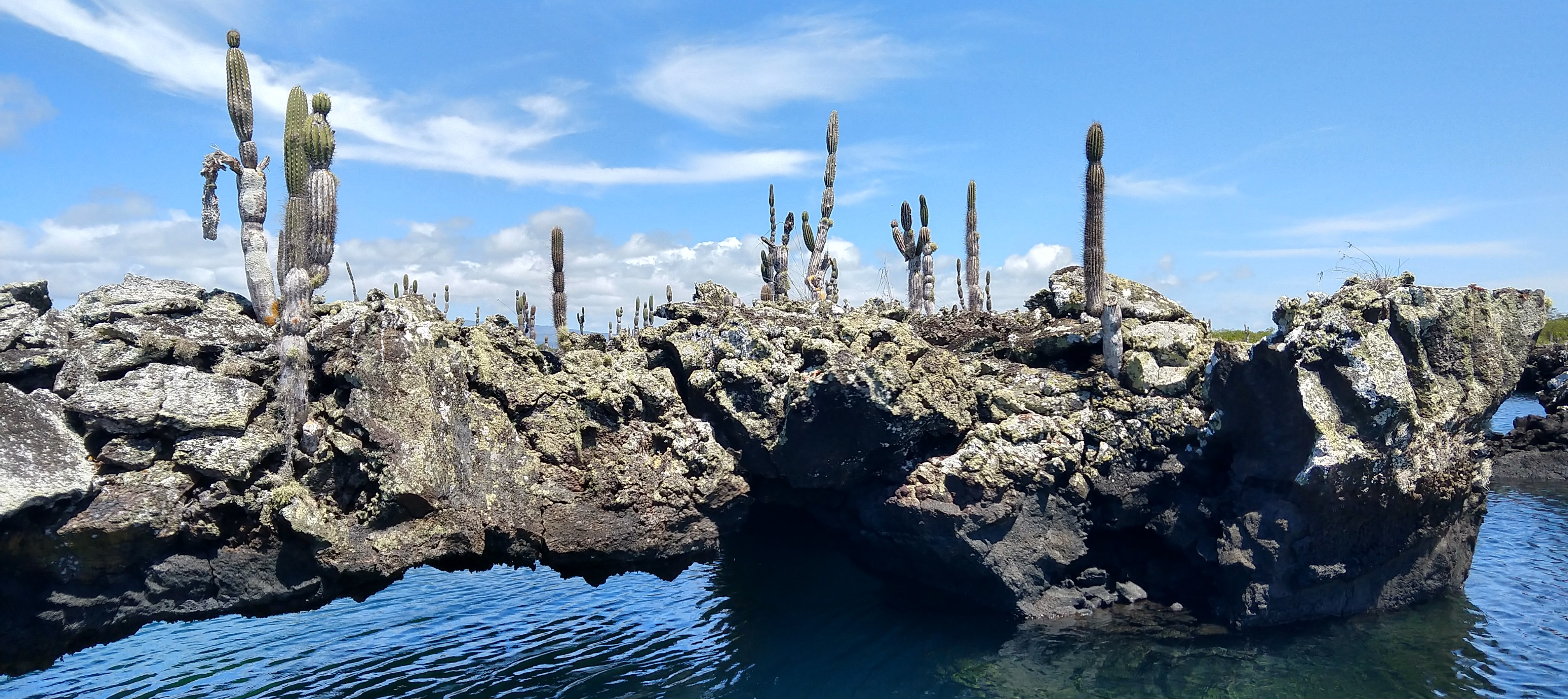 The tunnels in the Galapagos Islands